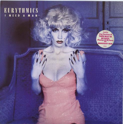 "Eurythmics I Need A Man 10"" vinyl single (10"" record) UK EUR10IN05786"