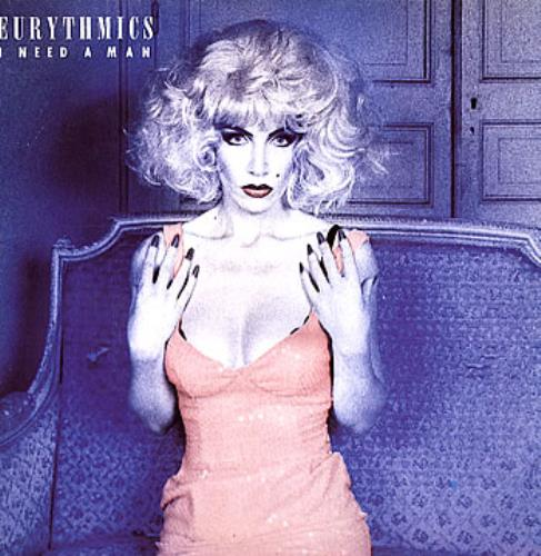"Eurythmics I Need A Man 12"" vinyl single (12 inch record / Maxi-single) UK EUR12IN82610"