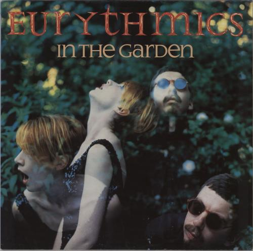 Eurythmics In The Garden vinyl LP album (LP record) German EURLPIN195174