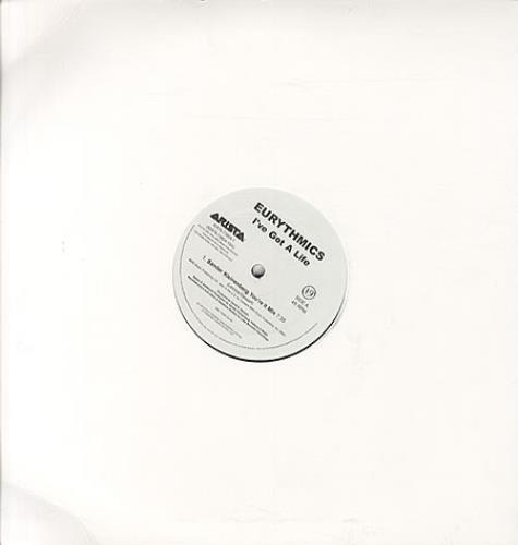 "Eurythmics I've Got A Life 12"" vinyl single (12 inch record / Maxi-single) US EUR12IV343023"