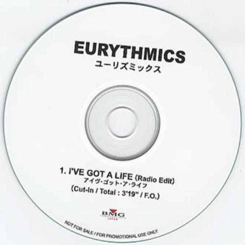 Eurythmics I've Got A Life CD-R acetate Japanese EURCRIV352812