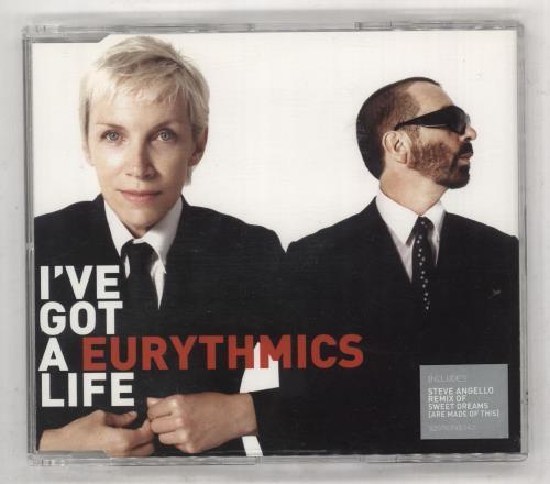 "Eurythmics I've Got A Life CD single (CD5 / 5"") UK EURC5IV737802"