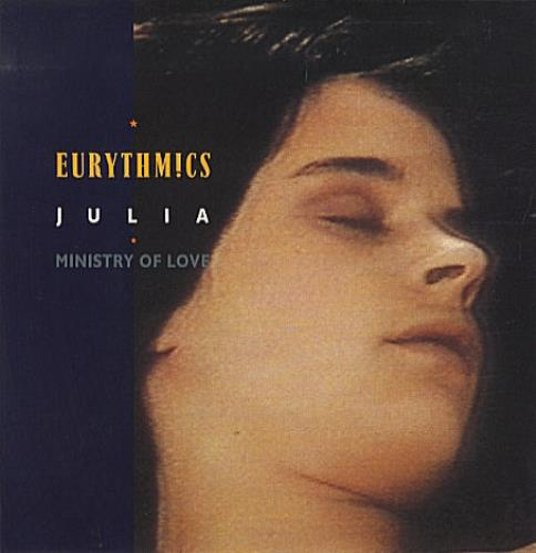 "Eurythmics Julia 12"" vinyl single (12 inch record / Maxi-single) UK EUR12JU13621"