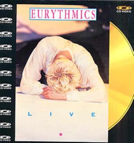 Eurythmics Live - Eurythmics laserdisc / lazerdisc UK EURLZLI11808