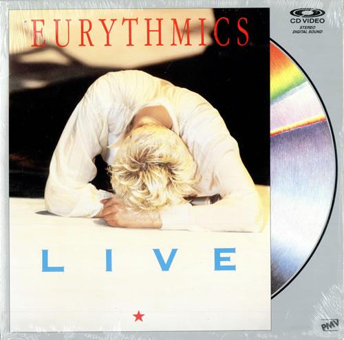 Eurythmics Live laserdisc / lazerdisc US EURLZLI479315