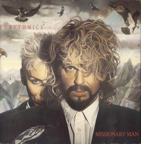 "Eurythmics Missionary Man 12"" vinyl single (12 inch record / Maxi-single) UK EUR12MI41120"