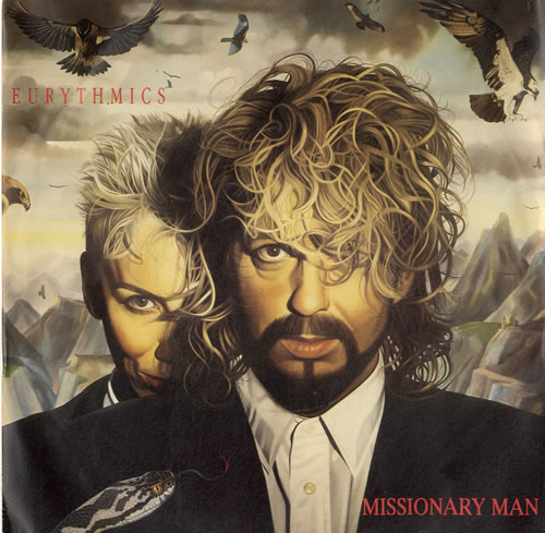 "Eurythmics Missionary Man 7"" vinyl single (7 inch record) UK EUR07MI44713"