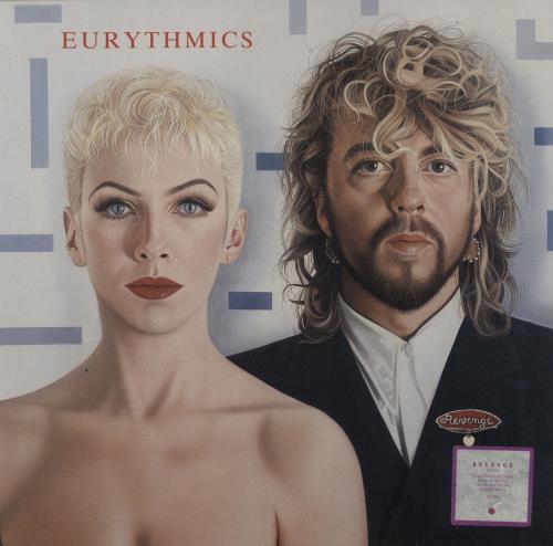 Eurythmics Revenge - 1st - Stickered + Insert vinyl LP album (LP record) UK EURLPRE753846