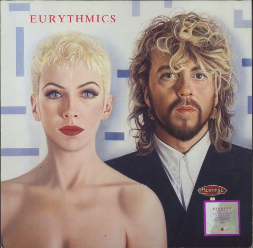 Eurythmics Revenge - 1st - Stickered vinyl LP album (LP record) UK EURLPRE575732