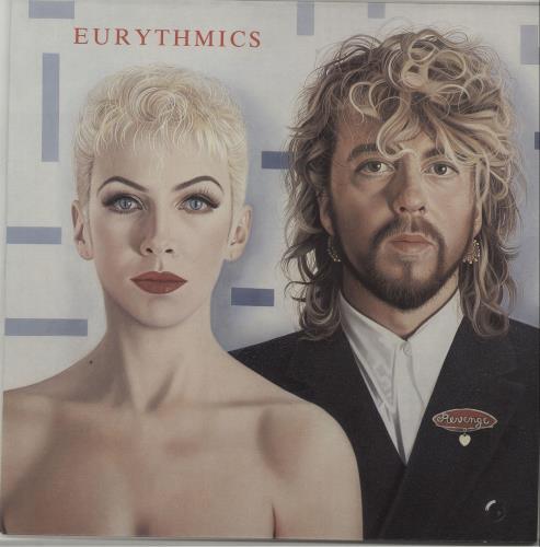 Eurythmics Revenge - EX vinyl LP album (LP record) Australian EURLPRE657529