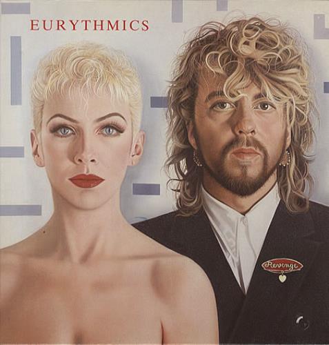 Eurythmics Revenge vinyl LP album (LP record) UK EURLPRE190460