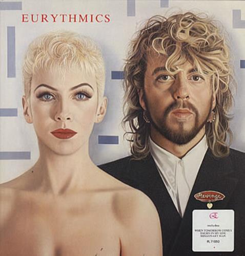 Eurythmics Revenge vinyl LP album (LP record) Italian EURLPRE316428