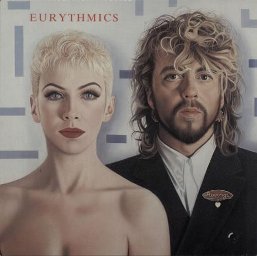Eurythmics Revenge vinyl LP album (LP record) Canadian EURLPRE598158