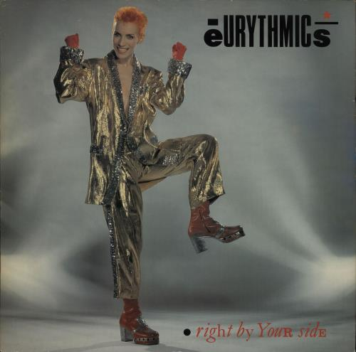 "Eurythmics Right By Your Side 12"" vinyl single (12 inch record / Maxi-single) UK EUR12RI37043"