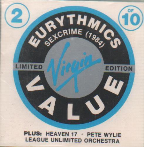"Eurythmics Sexcrime 1984 3"" CD single (CD3) UK EURC3SE55942"