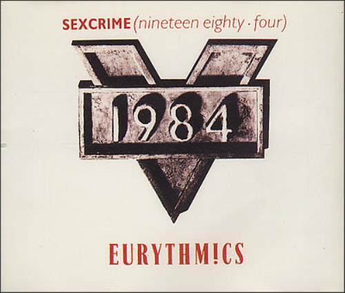 "Eurythmics Sexcrime 1984 CD single (CD5 / 5"") UK EURC5SE07172"