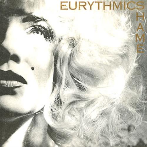 "Eurythmics Shame 7"" vinyl single (7 inch record) French EUR07SH312992"