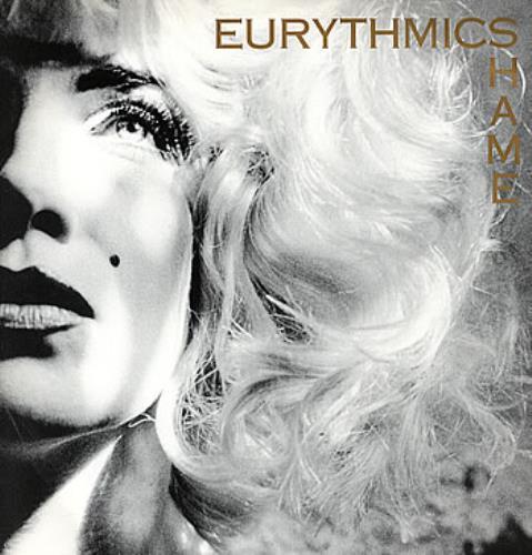 """Eurythmics Shame 12"""" vinyl single (12 inch record / Maxi-single) UK EUR12SH31464"""
