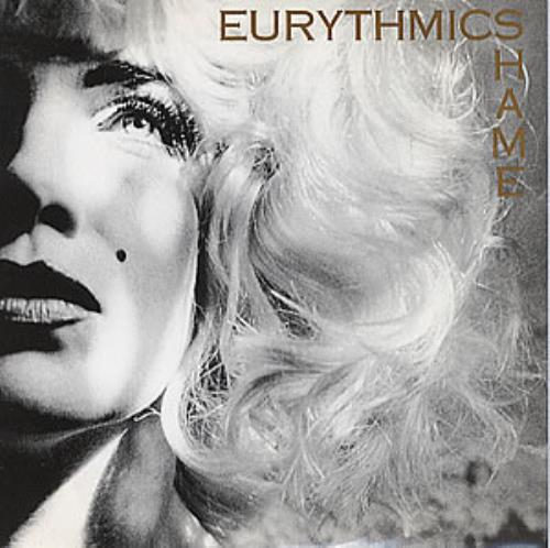 "Eurythmics Shame 7"" vinyl single (7 inch record) UK EUR07SH58088"