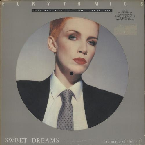 Eurythmics Sweet Dreams (Are Made Of This) - EX picture disc LP (vinyl picture disc album) UK EURPDSW538628