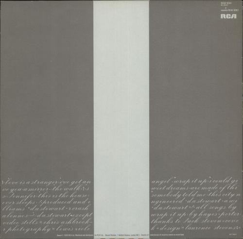 Eurythmics Sweet Dreams (Are Made Of This) vinyl LP album (LP record) UK EURLPSW337834