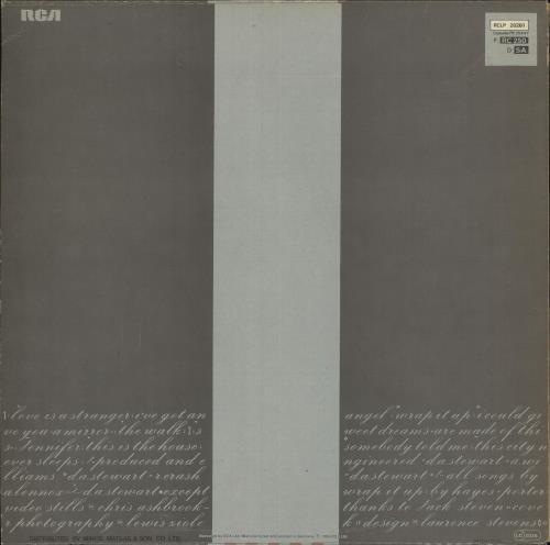 Eurythmics Sweet Dreams [Are Made Of This] vinyl LP album (LP record) Greek EURLPSW749715