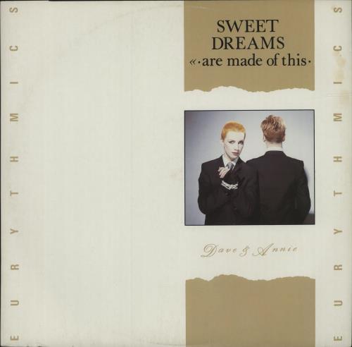 "Eurythmics Sweet Dreams - Picture Sleeve 12"" vinyl single (12 inch record / Maxi-single) UK EUR12SW10556"