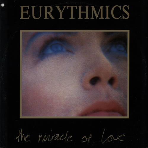 "Eurythmics The Miracle Of Love 12"" vinyl single (12 inch record / Maxi-single) UK EUR12TH570720"