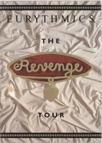 Eurythmics The Revenge Tour - EX tour programme UK EURTRTH732231