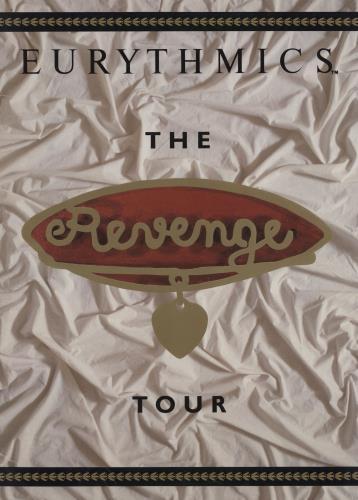 Eurythmics The Revenge Tour tour programme UK EURTRTH116751