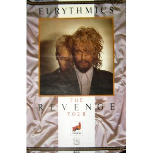 Eurythmics The Revenge Tour poster French EURPOTH383918