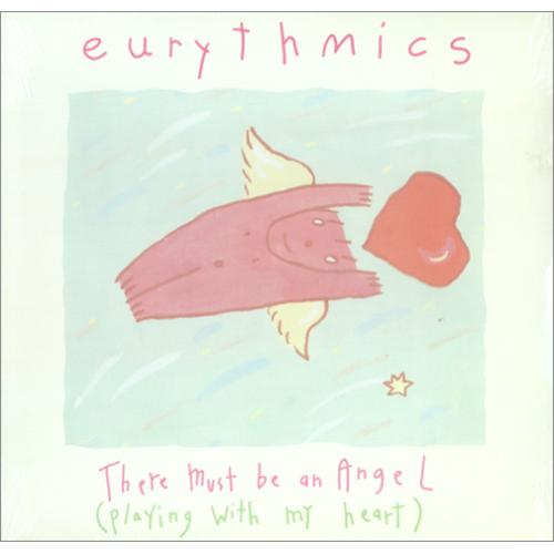 """Eurythmics There Must Be An Angel (Playing With My Heart) - Sealed 12"""" vinyl single (12 inch record / Maxi-single) US EUR12TH414535"""