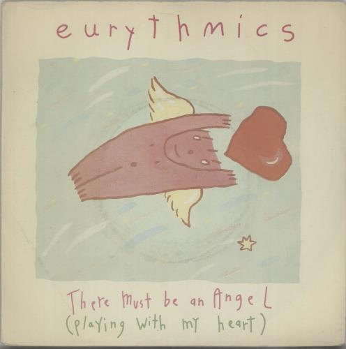 "Eurythmics There Must Be An Angel 7"" vinyl single (7 inch record) UK EUR07TH111374"