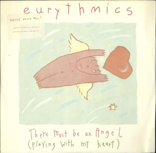 "Eurythmics There Must Be An Angel 12"" vinyl single (12 inch record / Maxi-single) UK EUR12TH88976"