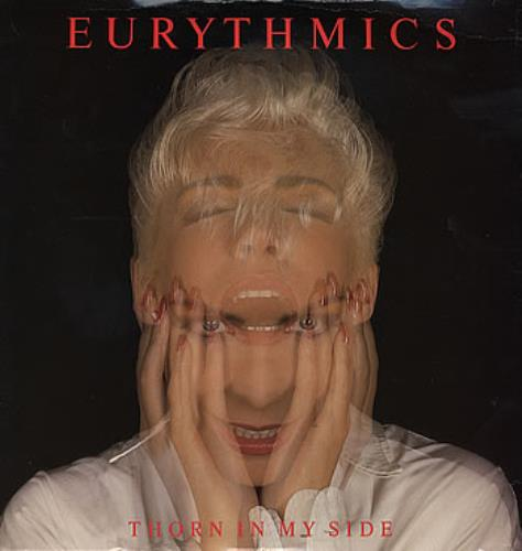 """Eurythmics Thorn In My Side 12"""" vinyl single (12 inch record / Maxi-single) UK EUR12TH205845"""