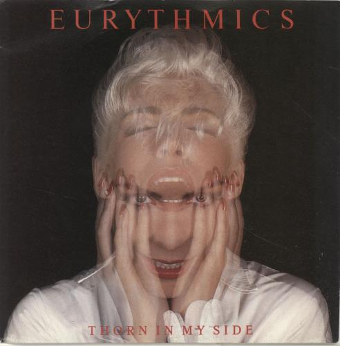 """Eurythmics Thorn In My Side 7"""" vinyl single (7 inch record) UK EUR07TH44712"""
