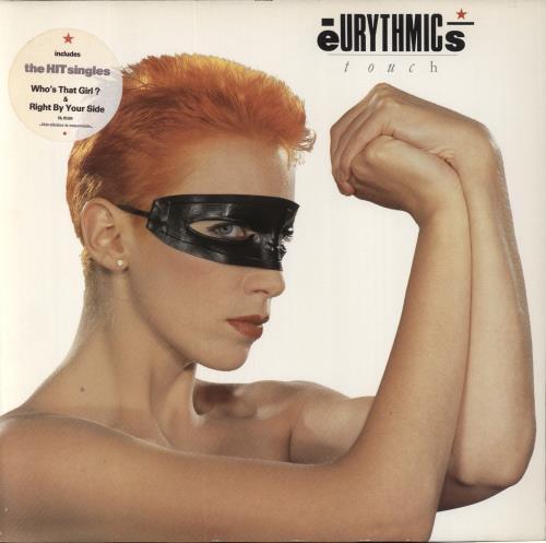 Eurythmics Touch + Merchandise insert vinyl LP album (LP record) UK EURLPTO665620