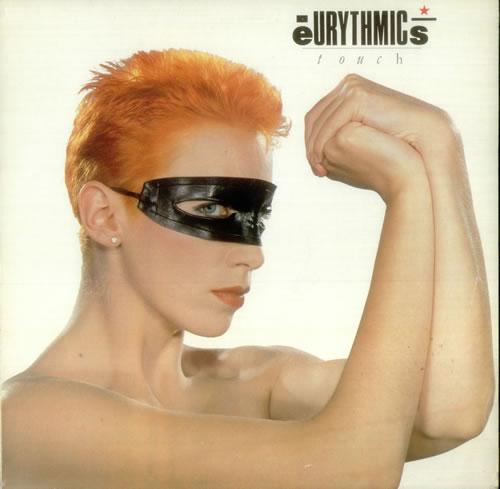 Eurythmics Touch vinyl LP album (LP record) Italian EURLPTO544471