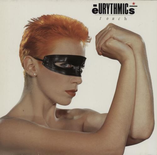 Eurythmics Touch vinyl LP album (LP record) UK EURLPTO757823