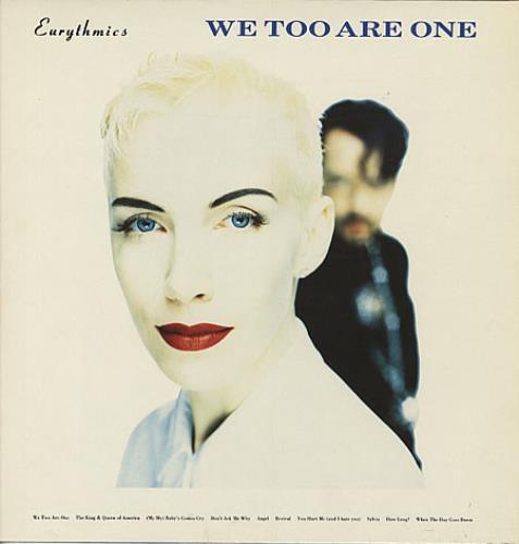 Eurythmics We Too Are One vinyl LP album (LP record) German EURLPWE267329