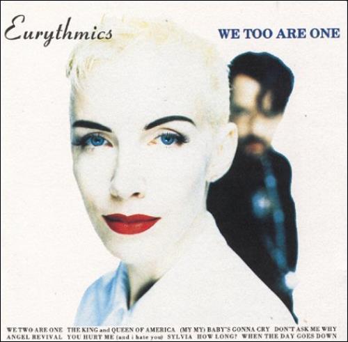 Eurythmics We Too Are One CD album (CDLP) German EURCDWE583413