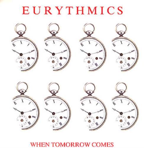 "Eurythmics When Tomorrow Comes 12"" vinyl single (12 inch record / Maxi-single) UK EUR12WH45946"