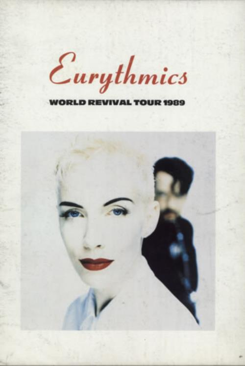 Eurythmics World Revival Tour 1989 tour programme UK EURTRWO592732