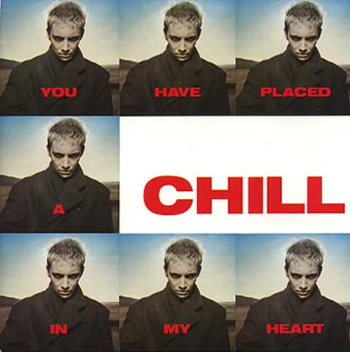 "Eurythmics You Have Placed A Chill In My Heart 7"" vinyl single (7 inch record) UK EUR07YO58087"