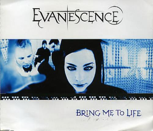 "Evanescence Bring Me To Life CD single (CD5 / 5"") Brazilian ESCC5BR286218"