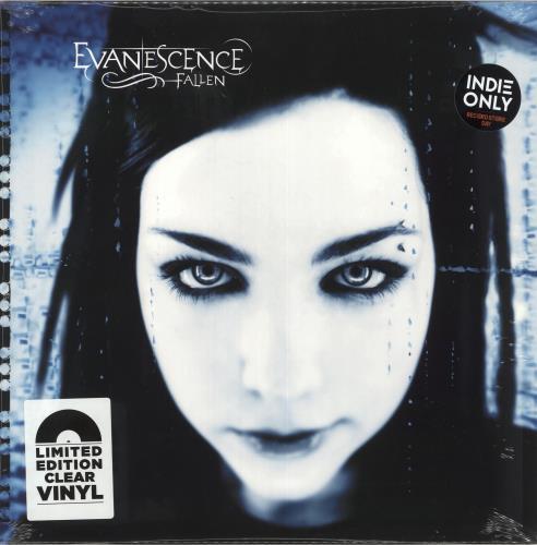 Evanescence Fallen - Clear Vinyl - Sealed vinyl LP album (LP record) UK ESCLPFA726439