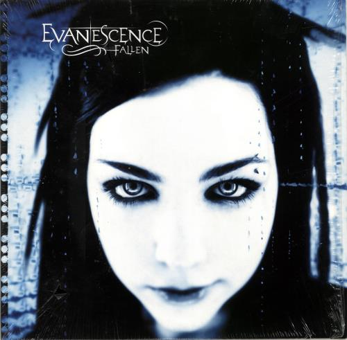 Evanescence Fallen - Purple Vinyl vinyl LP album (LP record) UK ESCLPFA690192