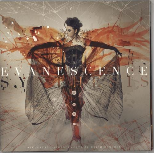 Evanescence Synthesis + CD 2-LP vinyl record set (Double Album) UK ESC2LSY741423