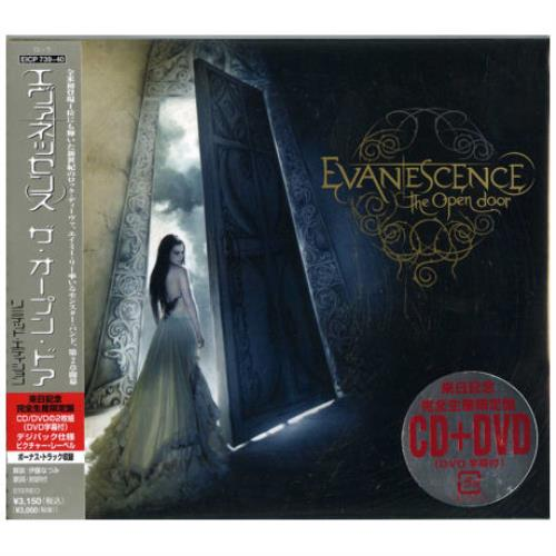 evanescence the open door japanese promo 2 disc cd dvd set 388942