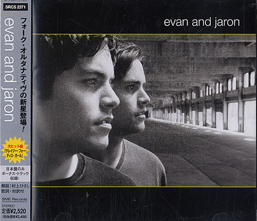 Evan And Jaron Evan And Jaron CD album (CDLP) Japanese EFTCDEV483699
